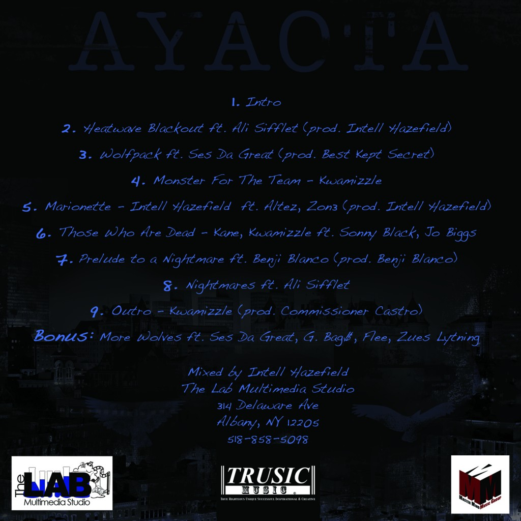 AYAOTA-Tracklist