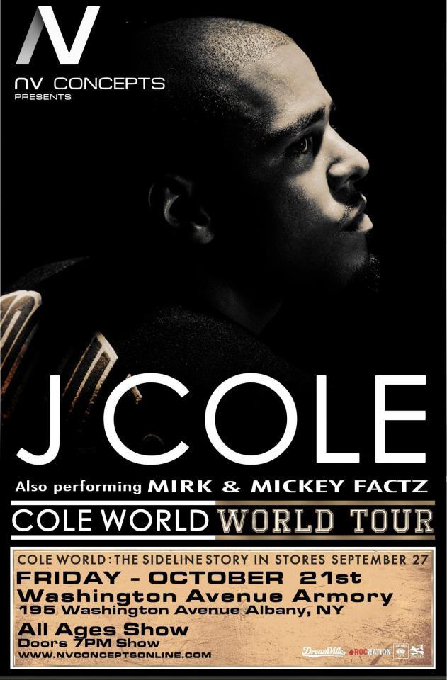 J. Cole Washington Ave. Armory