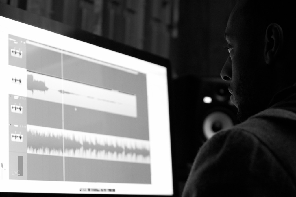 Intell Hazefield editing and recording Ali Sifflet @ The Lab Multimedia Studio