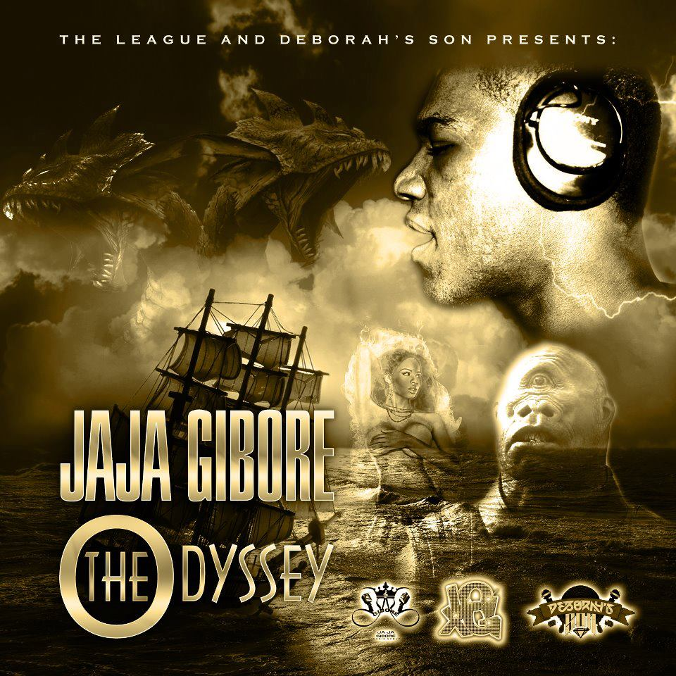 Jaja Gibore-The Odyssey Front Cover